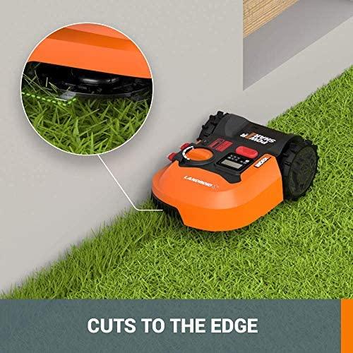51uTypR0moL. AC  - WORX WR140 Landroid M 20V Power Share Robotic Lawn Mower, Orange