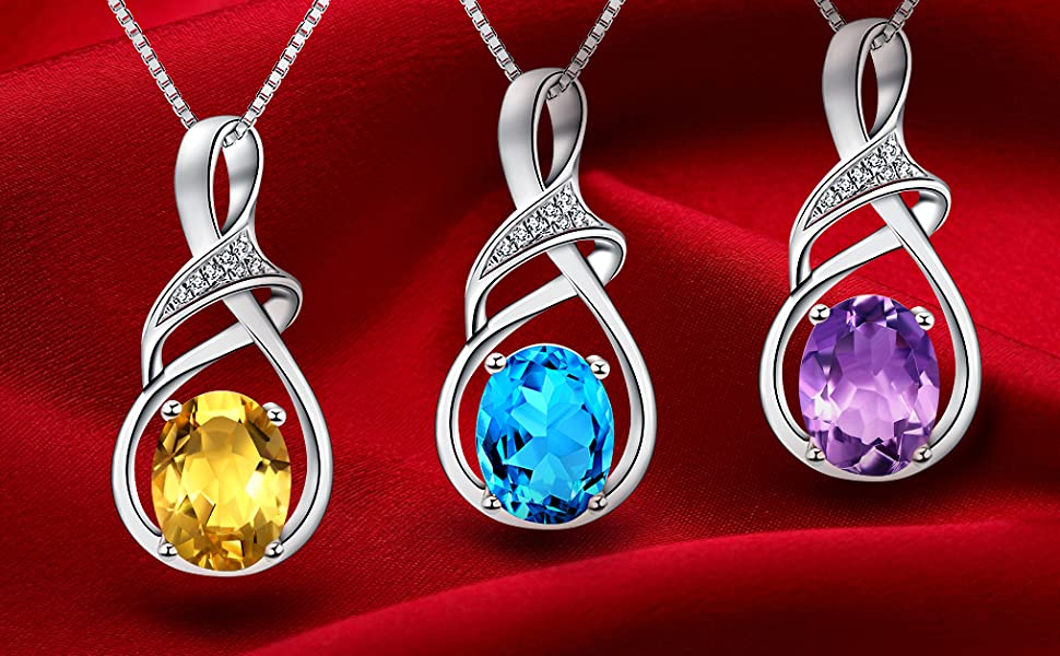 59b9a81b bbfb 43e9 ada6 e5d98f139ed0.  CR92,0,1015,628 PT0 SX970 V1    - HXZZ Fine Jewelry Natural Gemstone Gifts for Women Sterling Silver Swiss Blue Topaz Amethyst Citrine Pendant Necklace