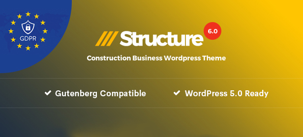 6.0 - Structure - Construction Industrial Factory WordPress Theme