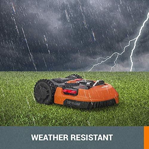 61hs14YTmML. AC  - WORX WR140 Landroid M 20V Power Share Robotic Lawn Mower, Orange
