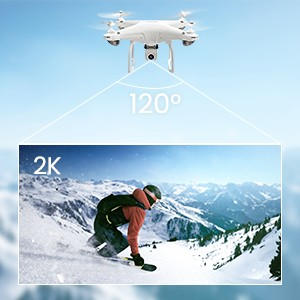 77fb73d7 4730 45b2 bca5 59fa57aec154.  CR0,0,300,300 PT0 SX300 V1    - Potensic D58 FPV Drone with 2K Camera for Adults, 5G WiFi HD Live Video, GPS Auto Return, RC Quadcopter for Beginners, Portable Case, 2 Batteries, Follow Me, Tap Fly, Altitude Hold, Expert-Upgraded