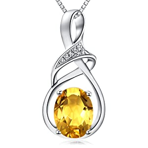8fc7da68 34f8 4468 a188 a086bcdea1ea.  CR0,0,1500,1500 PT0 SX300 V1    - HXZZ Fine Jewelry Natural Gemstone Gifts for Women Sterling Silver Swiss Blue Topaz Amethyst Citrine Pendant Necklace