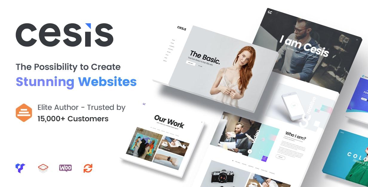 Cesis WordPress Theme 1 - TheFox | Multi-Purpose PSD Template