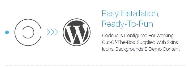 Description 03 - Codeus — Multi-Purpose Responsive Wordpress Theme