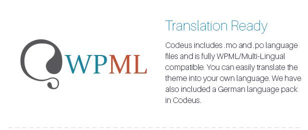 Description 22 - Codeus — Multi-Purpose Responsive Wordpress Theme