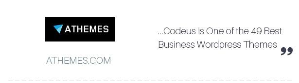 Reviews 02 - Codeus — Multi-Purpose Responsive Wordpress Theme