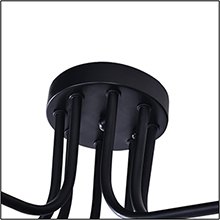 a8347c1e 367f 422f 9431 7ddb90d7d34a.  CR0,0,220,220 PT0 SX220 V1    - Lingkai Industrial Ceiling Light Vintage Chandelier Metal Pendant Light Creative Retro 8-Light Chandelier Lighting Fixture
