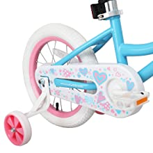 a9d51352 aa34 47c4 8248 3099dc4d5ad6.  CR0,0,1200,1200 PT0 SX220 V1    - JOYSTAR Angel Girls Bike 12 14 16 18 Inch Kids Bike with Training Wheels for 2-9 Years Old, 18 Inch Kids Bike with Kickstand, Toddler Bicycle, Blue, Fuchsia, Purple