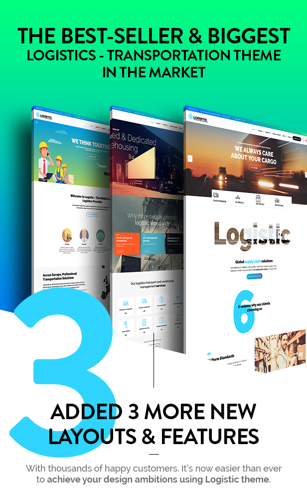 addons - Logistic - WP Theme For Transportation Business
