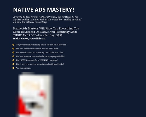 akearney1 x400 thumb - Native Ads Mastery - For Affiliate Marketers!
