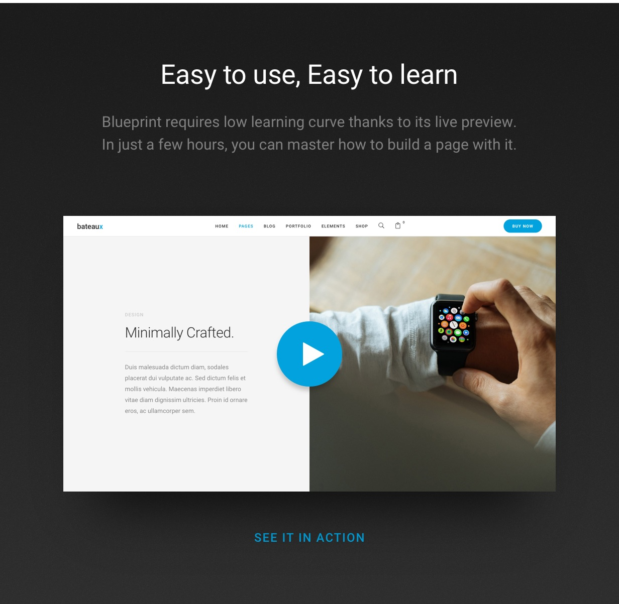 blueprint video v1 - Bateaux - Creative Multi-Purpose WordPress Theme
