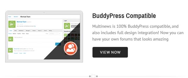 bp - Multinews   Magazine WordPress Theme