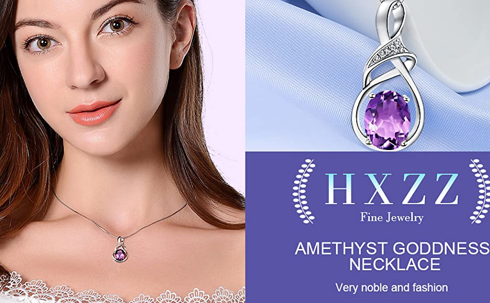 c1c49c08 c315 4648 b197 c5cf570ff0ad.  CR92,0,1015,628 PT0 SX970 V1    - HXZZ Fine Jewelry Natural Gemstone Gifts for Women Sterling Silver Swiss Blue Topaz Amethyst Citrine Pendant Necklace
