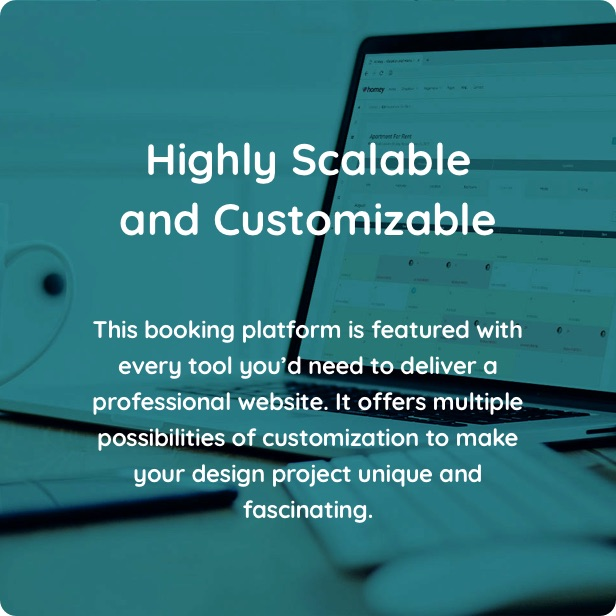 customizable - Homey - Booking and Rentals WordPress Theme