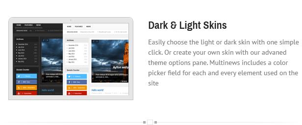 dark - Multinews   Magazine WordPress Theme