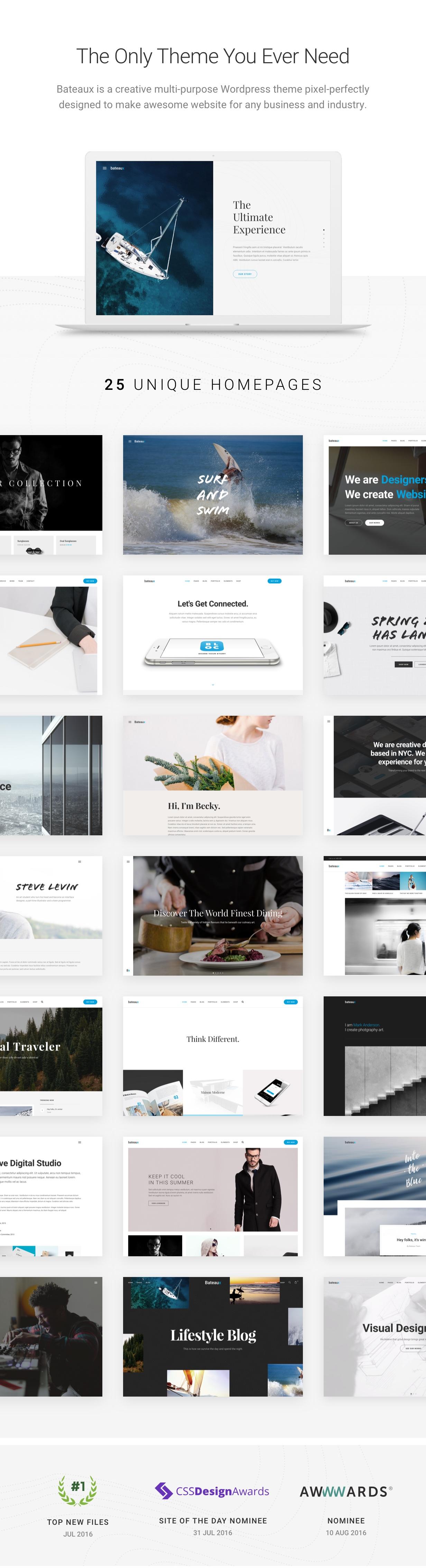 demo v1.3 - Bateaux - Creative Multi-Purpose WordPress Theme
