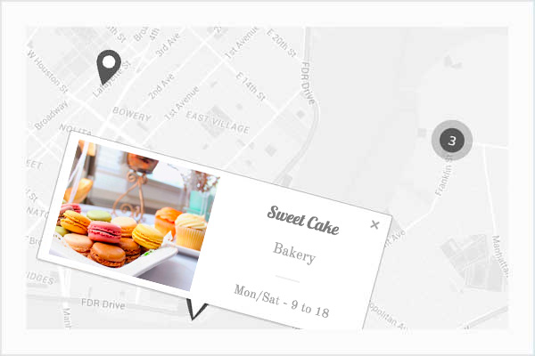 features 1 - Cake Bakery - Pastry WP