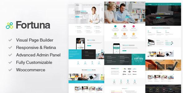 fortuna big banner.  large preview - Fortuna - Responsive Multi-Purpose WordPress Theme