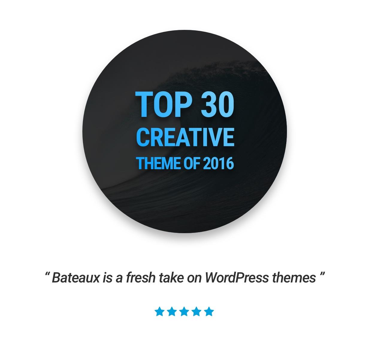 intro v1 - Bateaux - Creative Multi-Purpose WordPress Theme