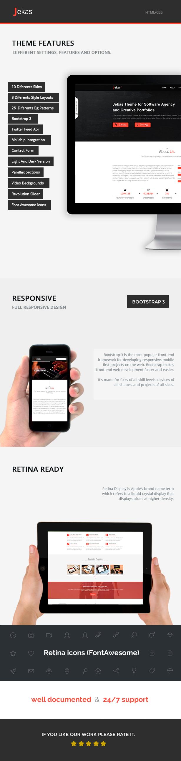 jekas - Software, Technology & Business Bootstrap Html Template - Jekas