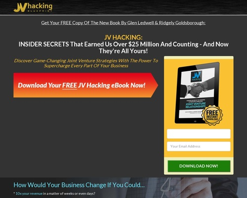 jvhacking x400 thumb - MAKE A FORTUNE WITH JV RELATIONSHIPS