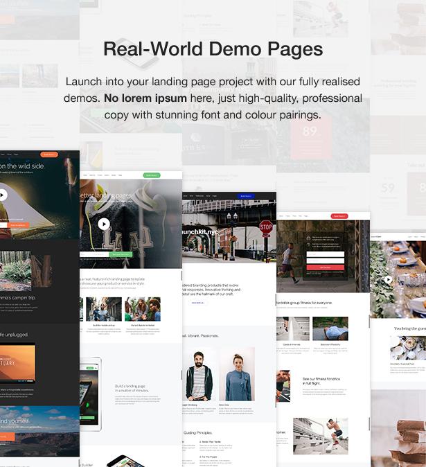 launchkit 2 - Launchkit Landing Page & Marketing WordPress Theme