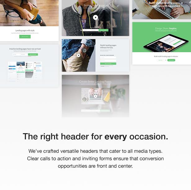 launchkit 3 - Launchkit Landing Page & Marketing WordPress Theme