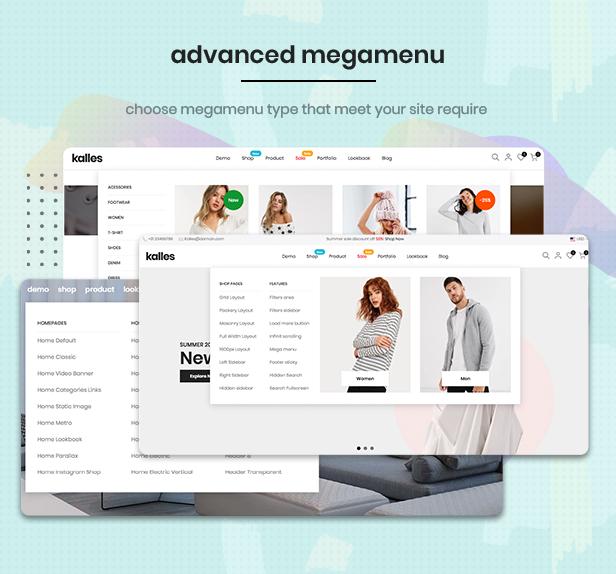 megamenu - Kalles - Clean, Versatile, Responsive Shopify Theme - RTL support