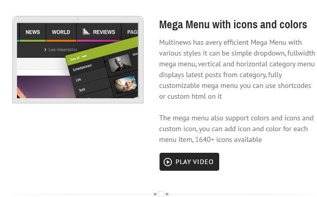 menu - Multinews   Magazine WordPress Theme