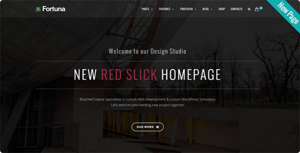 newRedSlick - Fortuna - Responsive Multi-Purpose WordPress Theme