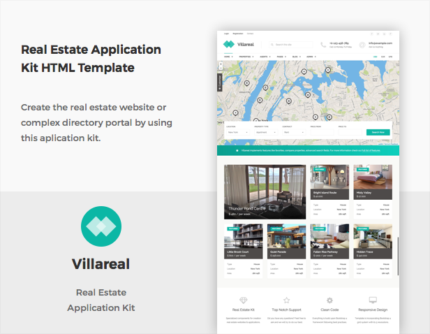 primary - Villareal - Real Estate Application Kit