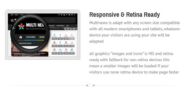 responsive - Multinews   Magazine WordPress Theme