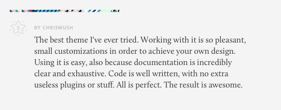 review for lobo wordpress theme for creatives 01 - Lobo - WordPress Portfolio for Freelancers & Agencies