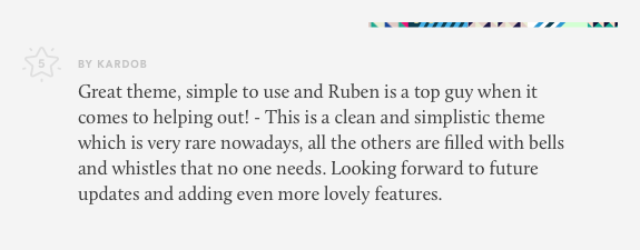 review for lobo wordpress theme for creatives 03 - Lobo - WordPress Portfolio for Freelancers & Agencies