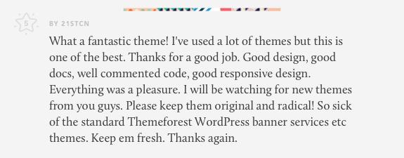 review for lobo wordpress theme for creatives 04 - Lobo - WordPress Portfolio for Freelancers & Agencies