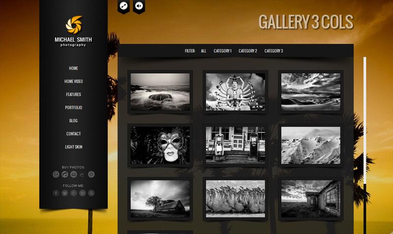 screenshot3 - BIG Gallery - Fullscreen Photography Portfolio