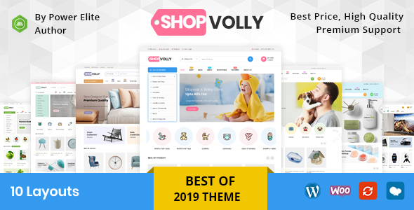 shopvolly preview - Mega Shop - WooCommerce Responsive Theme