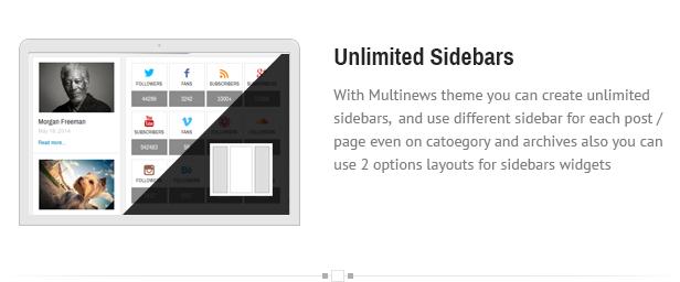 sidebars - Multinews   Magazine WordPress Theme