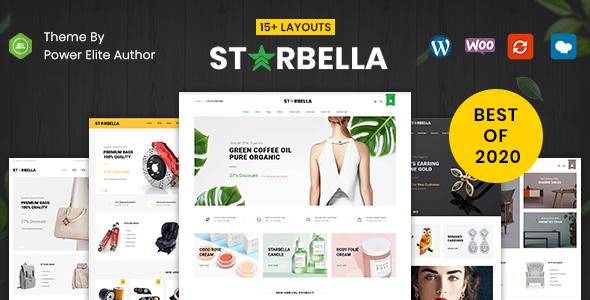 starbella preview - Mega Shop - WooCommerce Responsive Theme