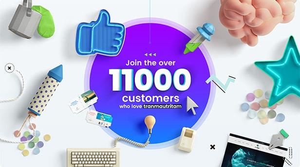 thefox wordpress v2 11000 customer - TheFox | Multi-Purpose PSD Template