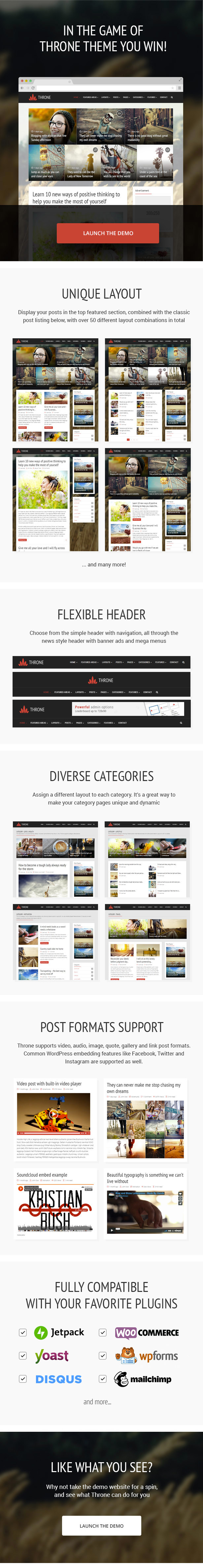 throne features part01 v3 - Throne - Personal Blog/Magazine WordPress Theme