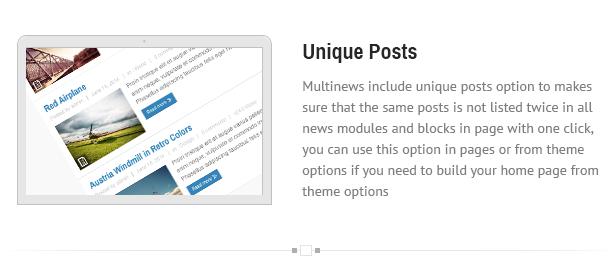 uniqe - Multinews   Magazine WordPress Theme