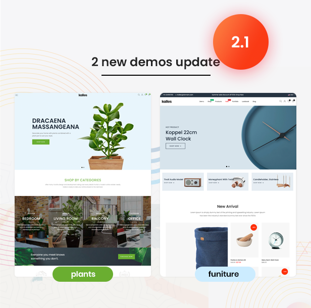 update v2.1 - Kalles - Clean, Versatile, Responsive Shopify Theme - RTL support