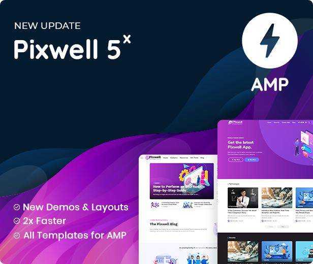 version amp - Pixwell - Modern Magazine