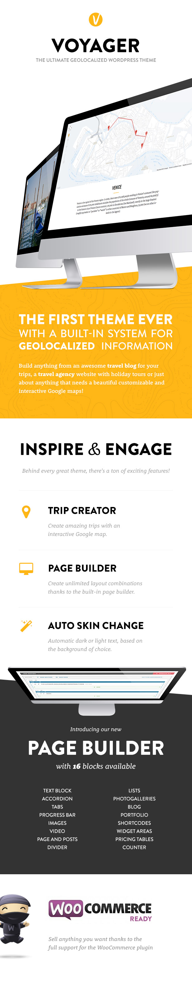 voyager promo - Voyager - The Geolocalized Multipurpose WP theme