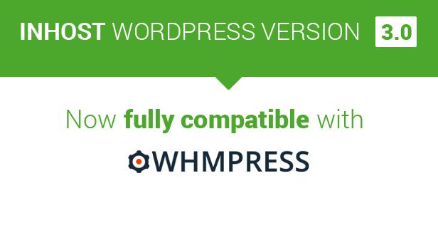 whmpress - InHost | WHMCS Integration WordPress Theme