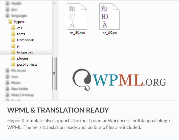 wpml - HyperX - Responsive Wordpress Portfolio Theme
