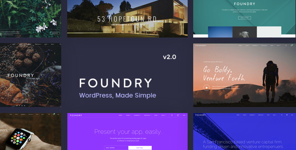 1.  large preview - Foundry - Multipurpose, Multi-Concept WP Theme