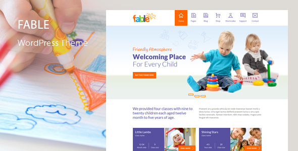 1615533616 206 01 preview.  large preview - Fable - Children Kindergarten WordPress Theme
