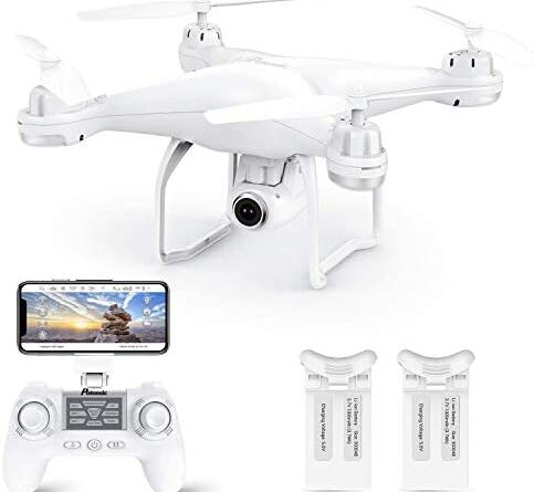 1615762839 412eGJeZkCL. AC  483x445 - Potensic T25 GPS Drone, FPV RC Drone with Camera 1080P HD WiFi Live Video, Dual GPS Return Home, Quadcopter with Adjustable Wide-Angle Camera- Follow Me, Altitude Hold, Long Control Range, White